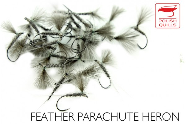 Feather parachute