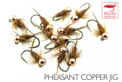 Pheasant copper jig