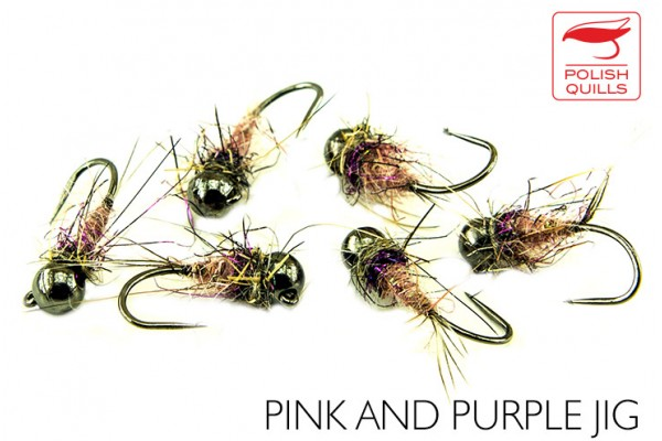 Pink and purple Jig