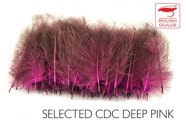 Dyed natural CDC