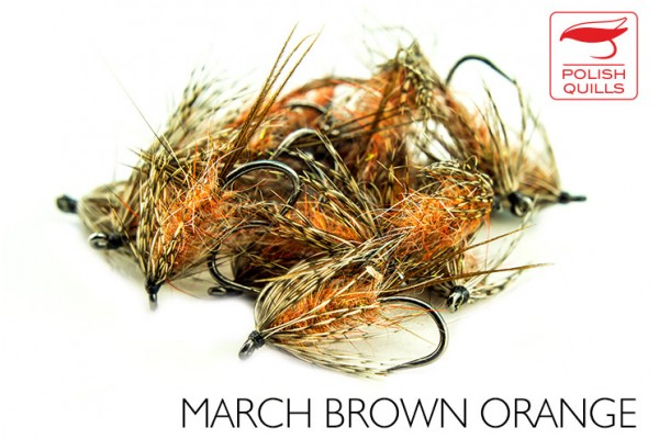 March Brown Orange